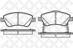 Колодки дисковые п.\ Toyota Auris 1.4/1.6VVTi/1.4D-4D 07>