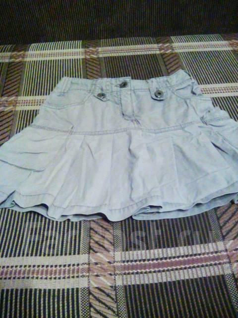Джинсовая юбка р
