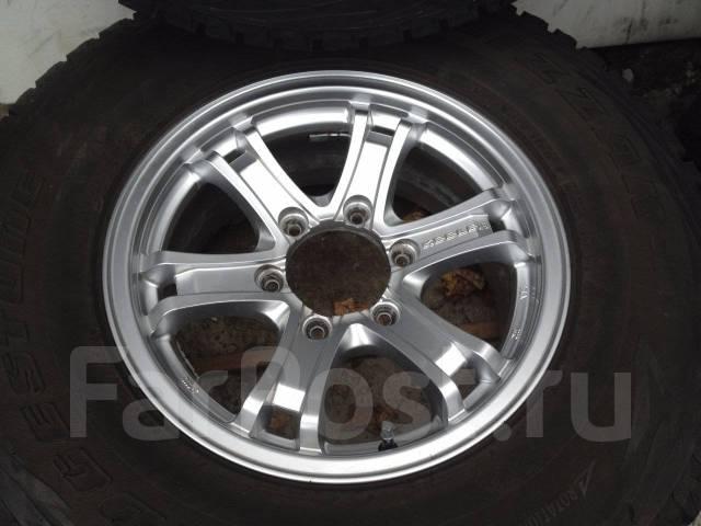 Колеса 265/70R16 на литье. 7.0x16 6x139.70 ET26