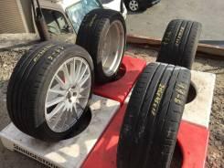 Bridgestone Potenza S001. Летние, 2012 год, износ: 100%, 4 шт