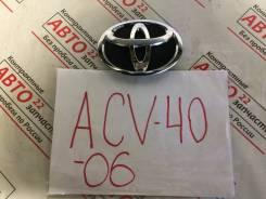 Эмблема. Toyota Camry, ACV40, AHV40, GSV40, ACV45 Двигатели: 2AZFE, 2GRFE, 2AZFXE