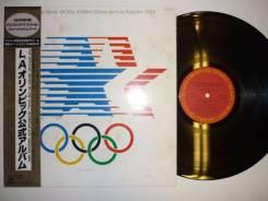 JAZZ! Музыка 23-ей Олимпиады / Music of the 23rd Olympiad - JP 2LP '84