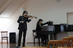 Педагог по скрипке и фортепиано