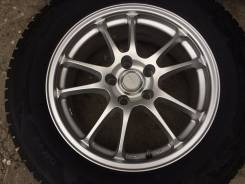 Зимние колеса 225-65-17 на Bridgestone. 7.0x17 5x114.30 ET45