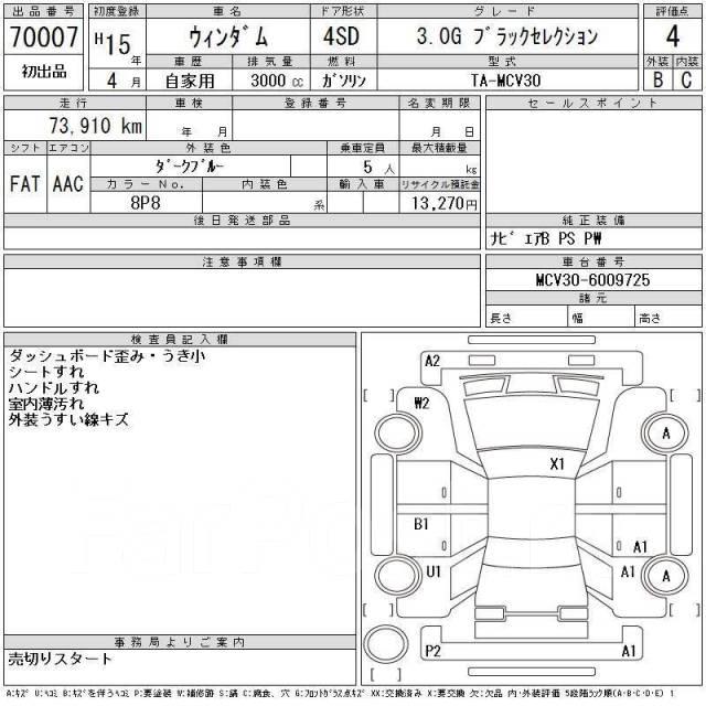 Панель кузова. Toyota Windom, MCV20, MCV21, MCV30 Toyota Camry Gracia, MCV21, MCV21W, SXV20, SXV20W, SXV25, SXV25W Toyota Camry, ACV30, ACV30L, ACV31...