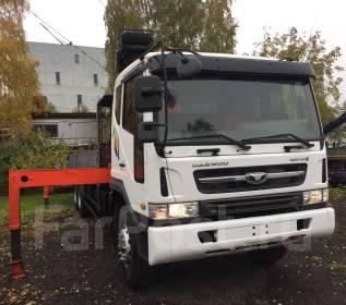 Daewoo Novus. с КМУ Kanglim KS 1256G-II (7 тонн) в Иркутске ( Новый )., 11 051 куб. см., 11 630 кг.
