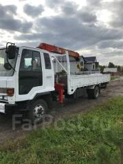 Isuzu Forward. Продается грузовик с манипулятором , 7 500куб. см., 5 000кг.