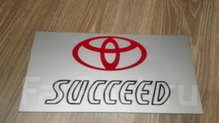 Табличка. Toyota Succeed