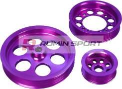 Набор шкивов, Toyota Supra 2JZ, фиолетовый