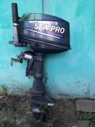 Sea-Pro. 9,90л.с., 2-тактный, бензиновый, нога S (381 мм), Год: 2013 год