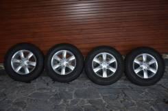 Комплект колес в сборе на Mitsubishi Pajero. 7.5x17 6x139.70 ET46 ЦО 67,0мм.