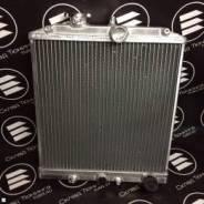 Радиатор алюминиевый 52мм МТ honda civic 92-00