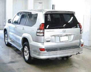 Спойлер. Toyota Land Cruiser Prado, GRJ120, GRJ120W, GRJ121, GRJ121W, GRJ125, GRJ125W. Под заказ