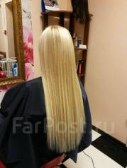 Наращивание волос от 5000 рублей