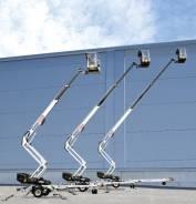 Dino 180XTB. Подъёмник прицепной коленчато -телескопический Dinolift аккумуляторный, 18 м. Под заказ