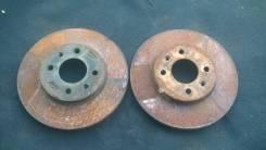 Диск тормозной. Hyundai Solaris, RB Двигатели: G4FA, G4FC