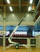 Dino 120TN. Подъёмник прицепной телескопический Dinolift узкий, 12 м. Под заказ