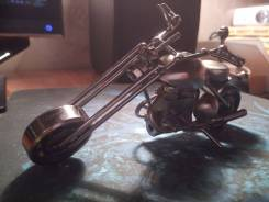 Модель Мотоцикла (Металл)