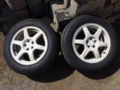 Колеса r16 speedline с резиной 215x60 Blizzak revoGZ. 5x100.00