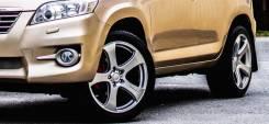 Разноширокие японские колеса R20 2554520 Dunlop. 8.5/9.5x20 5x114.30 ET35/35 ЦО 73,0мм.
