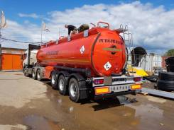 Foxtank ППЦ-32. Полуприцеп-цистерна бензовоз ФоксТанк 32000л 3 оси под тягач 6х4, 29,00куб. м.