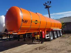 Foxtank. Полуприцеп-цистерна битумовоз, нефтевоз ФоксТанк 31м3, 4 оси, 31,00куб. м.