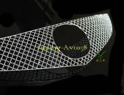 Молдинг решетки радиатора. Mazda Mazda6, GH Двигатели: MZRCD, R2AA, RF7J, R2BF, MZR, L5VE, L813, LF17