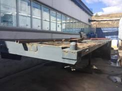 Кзап. Прицеп контейнеровоз 12 метров., 15 000 кг.