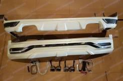 Обвес кузова аэродинамический. Toyota Land Cruiser, UZJ200W, VDJ200, URJ202W, UZJ200, URJ202