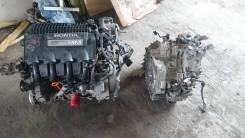 Двигатель в сборе. Honda Insight
