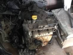 Двигатель в сборе. Renault Logan Двигатель K4M