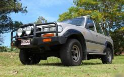Силовые бампера. Toyota Land Cruiser, FJ80, FJ80G, FZJ80, FZJ80G, FZJ80J, HDJ80, HDJ81, HDJ81V, HZJ80, HZJ81, HZJ81V, J80