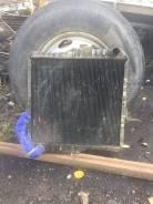 Радиатор охлаждения двигателя. Nissan Diesel, MK210LN Двигатель FE6