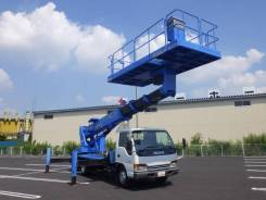 Isuzu Elf. Izusu Elf автовышка-платформа Aichi TZ20, 22 метра от земли, 5 000куб. см., 22,00м. Под заказ