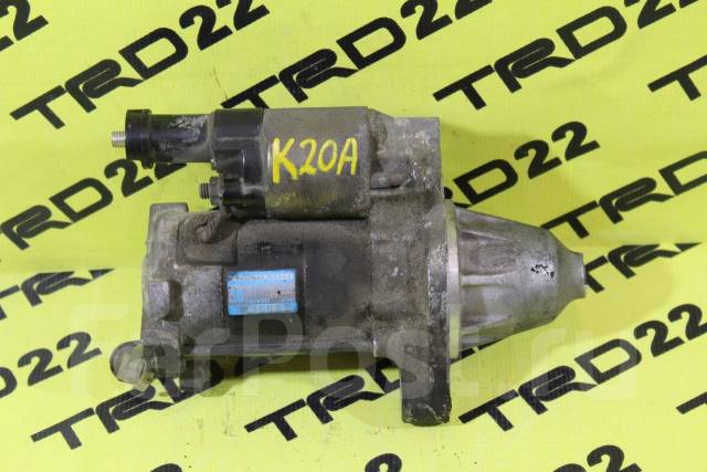Стартер. Honda: Stream, Accord, Elysion, Stepwgn, Odyssey, CR-V, Integra Двигатели: D17A2, K20B, K20A, K20A1, N22A1, K24A, N22B1, J30A4, K24A4, K20A8...
