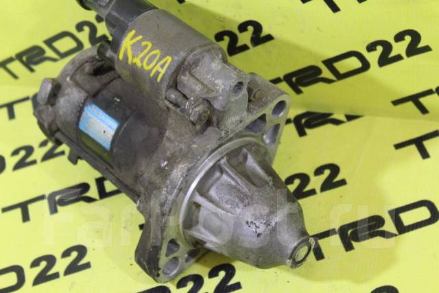 Стартер. Honda: Elysion, Accord, Odyssey, Stream, Stepwgn, CR-V, Integra Двигатели: K24A, J30A4, J35Z2, K20A, K20A6, K20A7, K20A8, K20Z2, K24A3, K24A4...