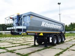 Kassbohrer. DL самосвальный полуприцеп 22 м3, 27 000 кг.