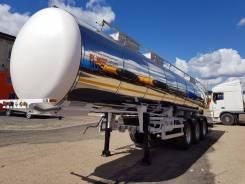 Foxtank. Новый полуприцеп пищевой молоковоз ФоксТанк 24м3, 24,00куб. м.