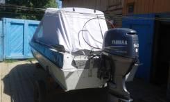 Казанка-5. Год: 2008 год, двигатель подвесной, 50,00л.с., бензин