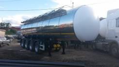 Foxtank. 4х осный полуприцеп молоковоз 27,5м3 ФоксТанк. Проходит по весам., 27,50куб. м.