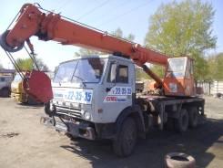 Галичанин КС-4572А. Автокран МТА-160 (на базе Камаз), 1 000 куб. см., 16 000 кг., 22 м.