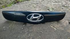 Накладка на дверь багажника. Hyundai Getz, TB Hyundai Click Двигатели: G4EA, G4EDG, G4EE, G4HD, G4HG