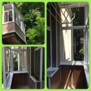 Остекление балконов и лоджий под ключ, пластиковые окна