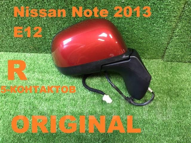 Зеркало заднего вида боковое. Nissan Note, E12