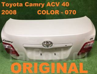 Крышка багажника. Toyota Camry, ACV45, ACV40 Ford Fiesta, AX Двигатель 2AZFE
