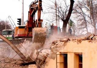 Снос, слом, промышленный демонтаж, разборка старых зданий