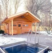 Строительство бань, внешняя и внутренняя отделка, интересные решения!