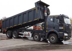 FAW J6 CA3310P66K24T4E4. Самосвал FAW 8х4 CA3310P66K24T4E4, 11 000 куб. см., 40 000 кг.