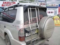 Лестница. Toyota Land Cruiser Prado, KZJ78W, KZ71W, KZJ71W, KZJ78G, KZ71G Двигатель 1KZTE