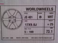 Wheelworld. x17, 5x100.00